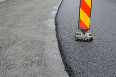 Asphalt layer Royalty Free Stock Image