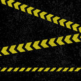 Asphalt lines background. Grunge asphalt background with yellow grunge stripes Royalty Free Stock Photos
