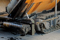 Asphalt machine Stock Images