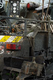 Asphalt machine detail 4 Royalty Free Stock Images