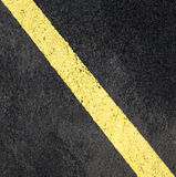 Asphalt with a marking in the background Royalty Free Stock Photo