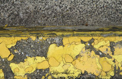 Asphalt and paint Stock Photo