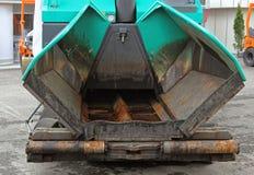 Asphalt Paving Finisher foto de archivo libre de regalías