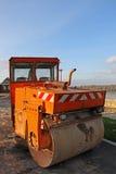 Asphalt paving machine Royalty Free Stock Photo