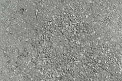 Asphalt paving paths. Asphalt grey color with small pebbles. stock image