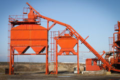 Asphalt plant Stock Photography