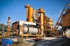 Asphalt plant Stock Image