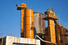 Asphalt plant Royalty Free Stock Photography