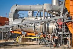 Asphalt plant Stock Images