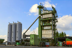 Asphalt plant Stock Photo