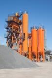 Asphalt plant Stock Photo