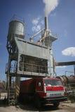 Asphalt plant in Ukraine Stock Image
