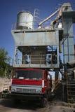 Asphalt plant in Ukraine Stock Photos