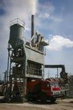 Asphalt plant in Ukraine Stock Photography