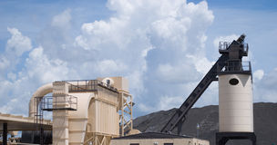 Asphalt Processing Plant Stock Photography