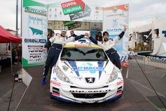 Asphalt Rally Cup Liburna Stock Photos