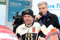 Asphalt Rally Cup Liburna, Agostinelli winner Royalty Free Stock Photography