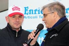 Asphalt Rally Cup Liburna, Baldini Royalty Free Stock Photo