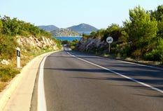 Asphalt road Stock Images