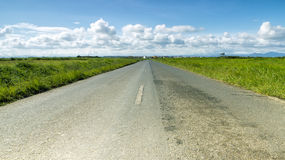 Asphalt road Royalty Free Stock Photos