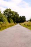 Asphalt Road all'infinito Immagini Stock Libere da Diritti