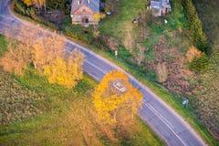 Asphalt road Stock Photography