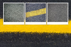 Asphalt Road Background Royalty Free Stock Photography
