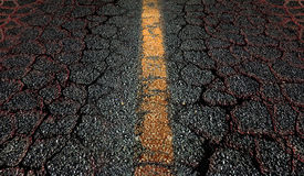 Asphalt Road Background Image libre de droits