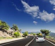Asphalt road. blurred motion Royalty Free Stock Image