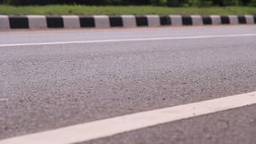 Asphalt road stock footage