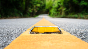 Asphalt road close up Stock Image