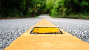 Asphalt road close up Stock Image