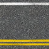 Asphalt road close up top view background Royalty Free Stock Image