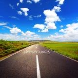 Asphalt road concept Stock Image