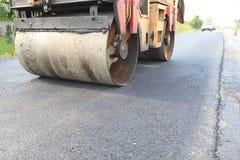Asphalt Road Construction Fotos de archivo