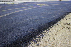 Asphalt Road Construction Stock Photography