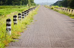 Asphalt road in country Stock Images