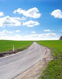 Asphalt Road in Countryside Royalty Free Stock Photography