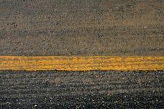 Asphalt road crack surface Royalty Free Stock Image