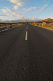 Asphalt Road in the Desert Stock Image