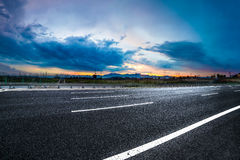 Asphalt road High way Stock Image