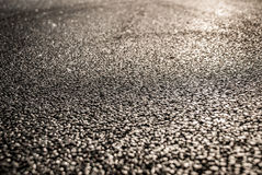 Asphalt road over sunset Royalty Free Stock Photo