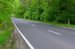 Asphalt road. Royalty Free Stock Photography