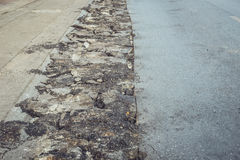 Asphalt road repair Royalty Free Stock Photos