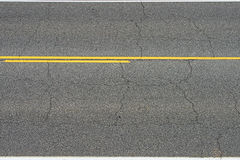 Asphalt road section Royalty Free Stock Image
