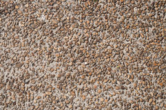 Asphalt road with small stones Royalty Free Stock Images