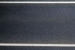 Asphalt road surface  line Stock Images