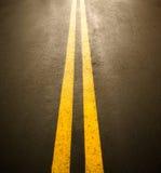 Asphalt road surface Stock Photos