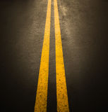 Asphalt road surface Stock Images