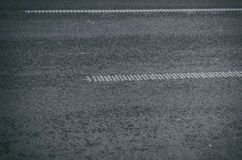 Asphalt road texture. Asphalt highway with road markings background royalty free stock images